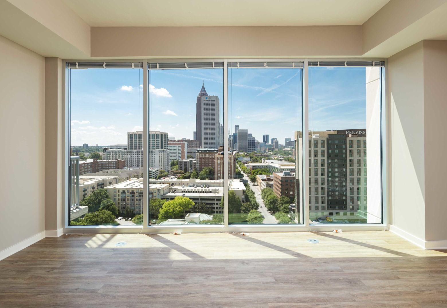 Downtown View | Apartment Interior | Nine15 Midtown